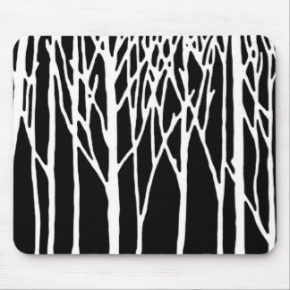 Birch Forest by Leslie Peppers Mouse Pad