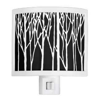 Birch Forest by Leslie Peppers Night Light