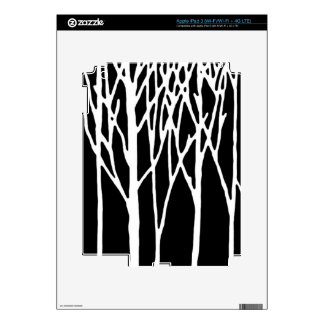 Birch Forest by Leslie Peppers Skins For iPad 3