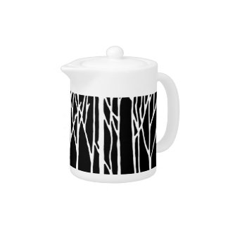 Birch Forest by Leslie Peppers Teapot