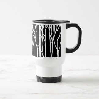 Birch Forest by Leslie Peppers Travel Mug
