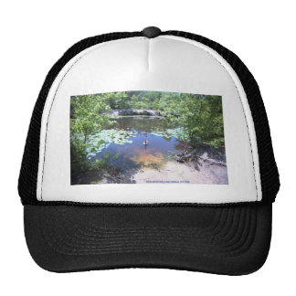 Birch Grove Park - Take a Gander at These Geese ! Trucker Hat
