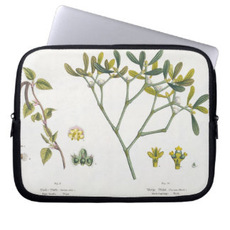 Birch (left) and Mistletoe (right), fig. 9 and 10 Laptop Sleeve