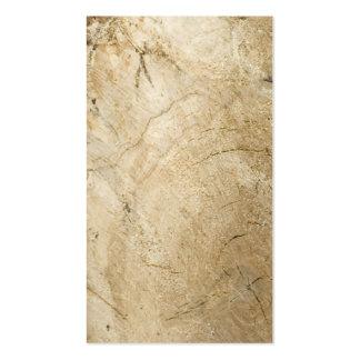 Birch logs business card