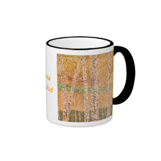 Birch Lookout Ringer Coffee Mug