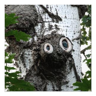 Birch Soul Tree Magic Face Photography Invitation