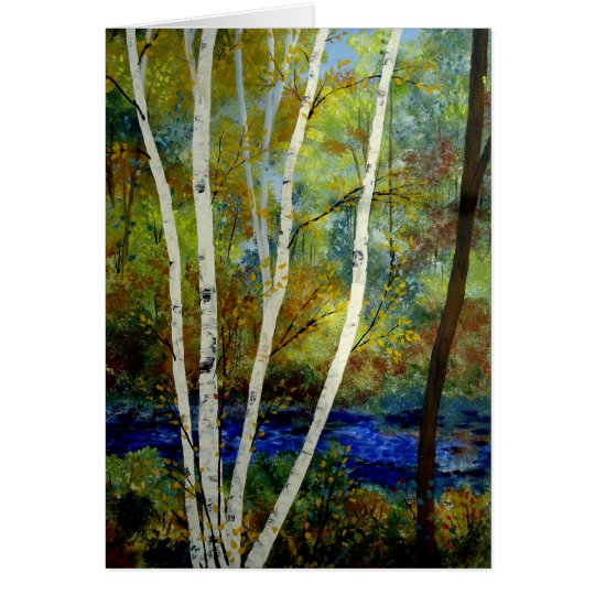 Birch Stream Card