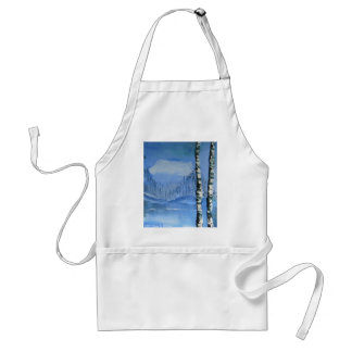 Birch Tree Apron