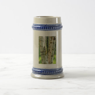 Birch Tree Beer Stein
