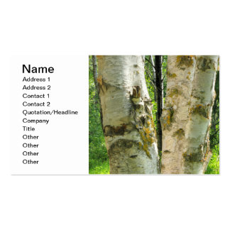 Birch Tree Double-Sided Standard Business Cards (Pack Of 100)