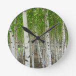 Birch Tree Clock