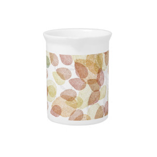 Birch Tree in Fall Colors Drink Pitcher