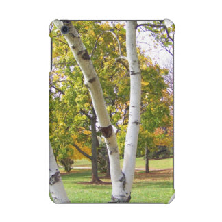 Birch Tree in the Park iPad Mini Retina Cover