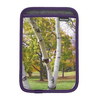 Birch Tree in the Park Sleeve For iPad Mini