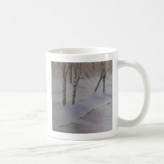 Birch Tree Classic White Coffee Mug