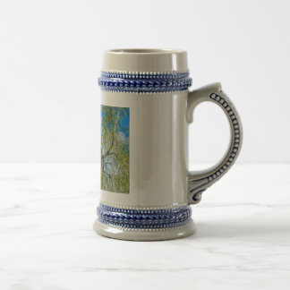 Birch tree - Spring is in the air Beer Stein