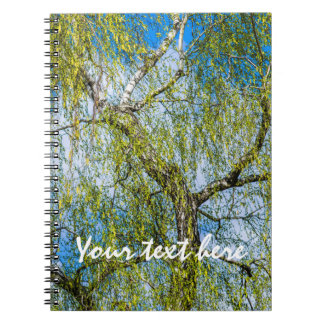 Birch tree - Spring is in the air Notebook