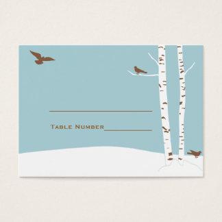 Birch Tree Wedding Seating Cards
