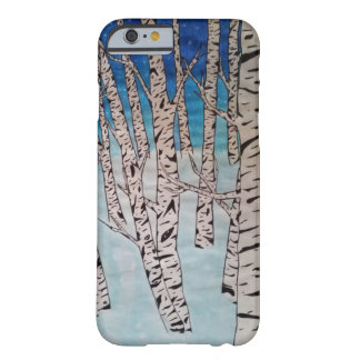 Birch Tree Winter Forest Barely There iPhone 6 Case
