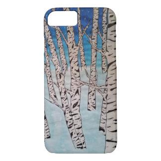 Birch Tree Winter Forest iPhone 8/7 Case
