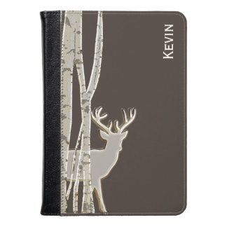 Birch Trees and Stag Custom Kindle Fire Folio