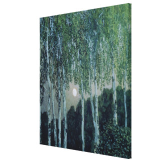 Birch Trees Gallery Wrap Canvas