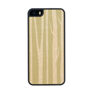 Birch Trees Carved® Maple iPhone 5 Slim Case