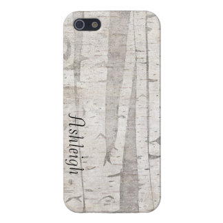 Birch Trees Covers For iPhone 5