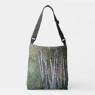 Birch trees crossbody bag