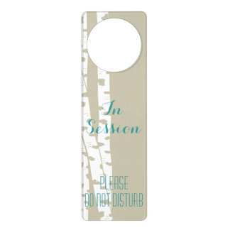 Birch Trees Door Hanger
