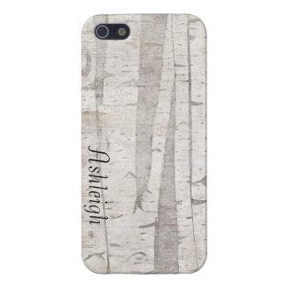 Birch Trees iPhone SE/5/5s Case