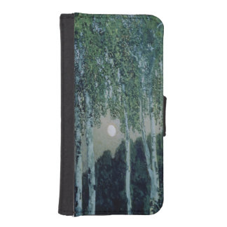 Birch Trees Phone Wallet