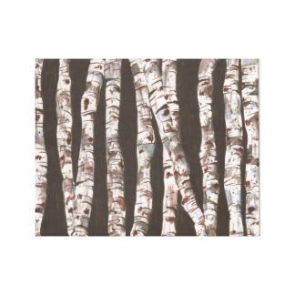 Birch Trees - Wall Hanging!!! Stretched Canvas Print