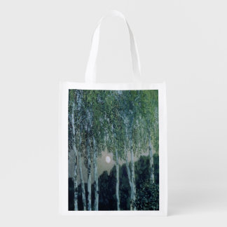 Birch Trees Reusable Grocery Bags