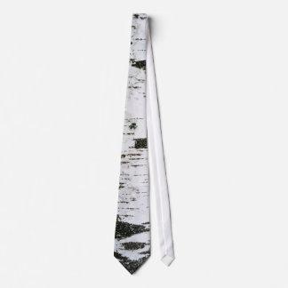 Birch trunk tie