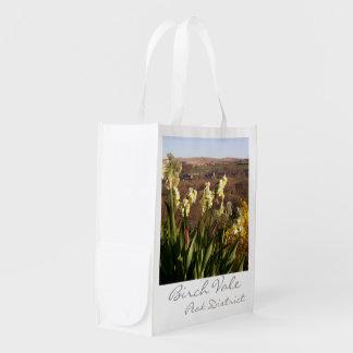 Birch Vale, Peak District reusable grocery bag