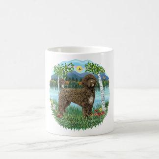 Birches - Brown Portie 2 Coffee Mugs