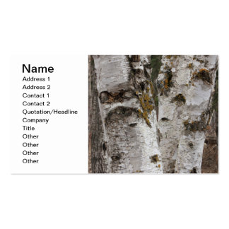 Birches Double-Sided Standard Business Cards (Pack Of 100)