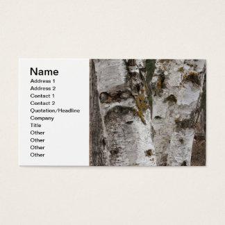 Birches Business Card