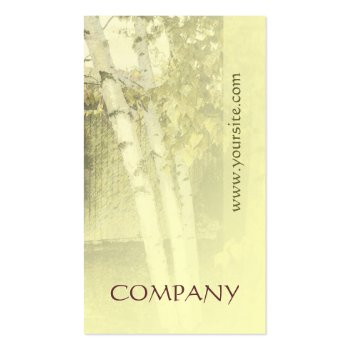 Birches Harmony 1 Business Card