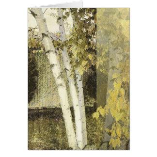 Birches Harmony 1 Card
