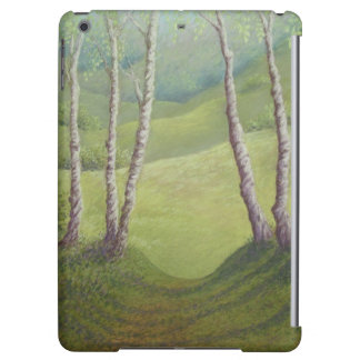 Birches in Spring, Walton Heath iPad Air Case