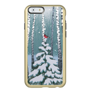 Birches In The Winter Forest Incipio Feather Shine iPhone 6 Case