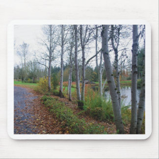 Birches Mouse Pad