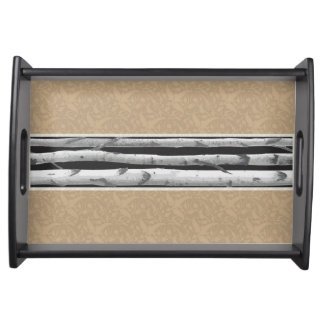 Birches Serving Tray