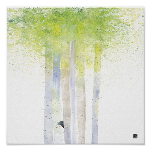 BIRCHTREES POSTER