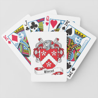 Bircut Family Crest Bicycle Playing Cards