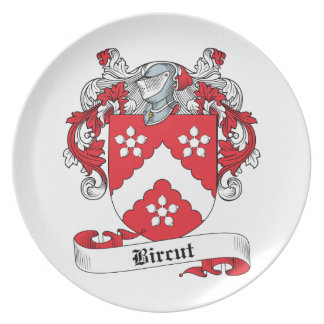 Bircut Family Crest Plate