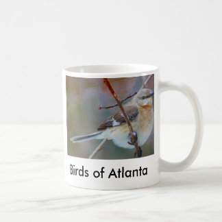 bird1, pájaros de Atlanta Taza Básica Blanca