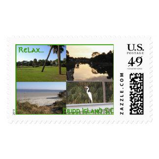 Bird2, Ocean, Golf 2, Stream, Sea Sounds At Fri... Postage Stamps
